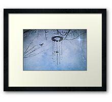 On a Winter's Night Framed Print