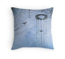 On a Winter's Night Throw Pillow
