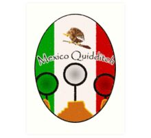 Mexico Quidditch  Art Print