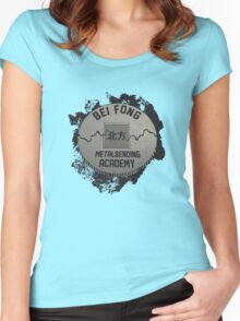 Bei Fong Metalbending Academy Women's Fitted Scoop T-Shirt