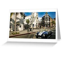Rodeo Drive Greeting Card