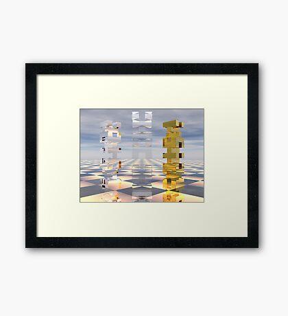 Jenga Framed Print