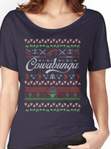 Cowabunga Christmas Women's Relaxed Fit T-Shirt