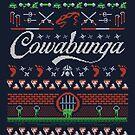 Cowabunga Christmas by DJKopet