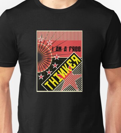 BE CONSTRUCTIVE • Free Thinker Unisex T-Shirt