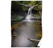 Upper Fairy Bower Falls in Portrait Poster