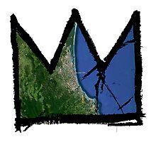 "Basquiat ""King of Gold Coast Australia"" Photographic Print"