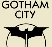 Gotham City Monopoly - Batman Sticker