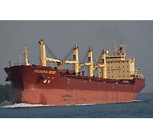 Bright Freighter Photographic Print