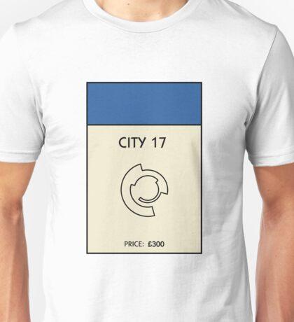 City 17 Monopoly (Half Life 2) Unisex T-Shirt