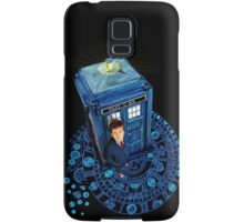 Time traveller at Arch of time Zone Samsung Galaxy Case/Skin