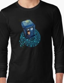 Time traveller at Arch of time Zone T-Shirt