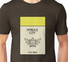Hyrule City Monopoly (The Legend of Zelda) Unisex T-Shirt