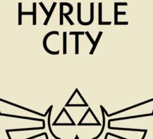 Hyrule City Monopoly (The Legend of Zelda) Sticker