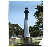 Hunting Island Light House Poster