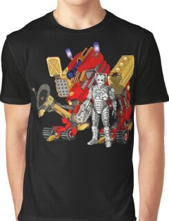 Upgraded Dalek with the robot master Graphic T-Shirt
