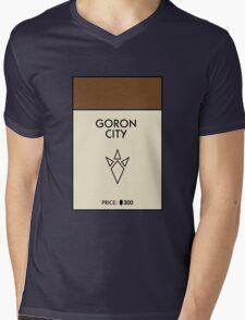 Goron City Monopoly (The Legend of Zelda) Mens V-Neck T-Shirt