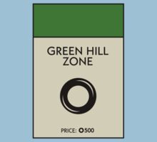 Green Hill Zone Monopoly (Sonic the Hedgehog) by WalnutSoap
