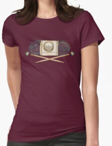 Ball of yarn skein wooden knitting needles T-Shirt