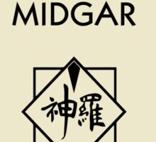 Midgar Monopoly (Final Fantasy VII) Sticker