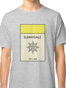 Sunnydale Monopoly (Buffy the Vampire Slayer) Classic T-Shirt