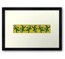 Cactilio Party Framed Print