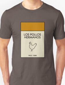 Los Pollos Hermanos Monopoly (Breaking Bad) T-Shirt