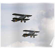 Hawker Nimrod Bi-planes Poster