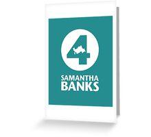 4 Samantha Banks Greeting Card