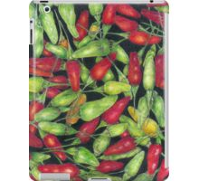Chilly Harvest (coloured pencils) iPad Case/Skin