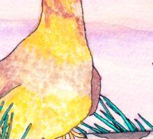 Twin Peaks Opening Credits Bird Sticker