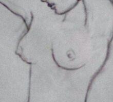 Nude Sticker