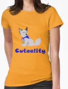 Cuteality Womens Fitted T-Shirt