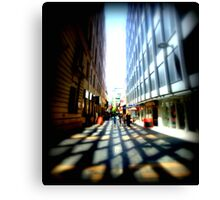Adelaide - CBD - Sidewalks Canvas Print