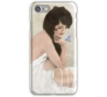 Thinking of you iPhone Case/Skin