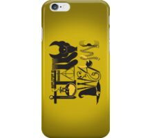 Totally Awesome! *HUFFLEPUFF/ON YELLOW* iPhone Case/Skin