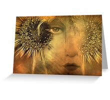 Ergon ~ The Right Eye of the Soul Greeting Card