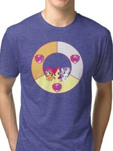 Cutie Mark Crusaders Tri-blend T-Shirt