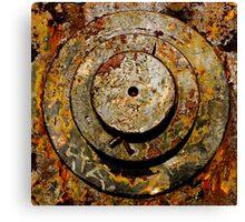 Steel & Rust Canvas Print