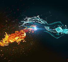 Omniblade versus Plasma Sword by Rorisu