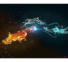 Omniblade versus Plasma Sword Photographic Print