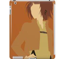 Minimalist Hange Zoë  iPad Case/Skin
