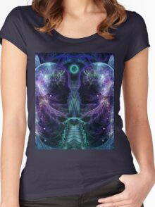 Dawn is late Women's Fitted Scoop T-Shirt