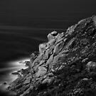 Bluff Rocks at Night by sedge808