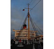 Fourth of July on the Queen Mary Photographic Print