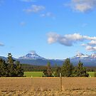 The Three Sisters...Outside of Sisters, Oregon by trueblvr