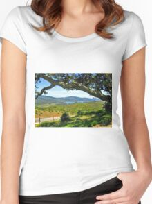The Santa Clara Valley, California Women's Fitted Scoop T-Shirt