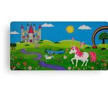 Unicorn Wonderland Canvas Print
