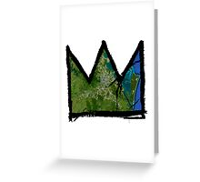 "Basquiat ""King of Brisbane Australia"" Greeting Card"