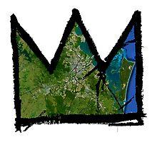 "Basquiat ""King of Brisbane Australia"" Photographic Print"